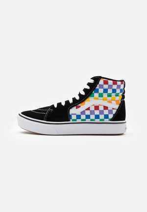 COMFYCUSH SK8 - Zapatillas altas - rainbow/true white