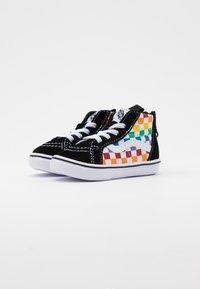 Vans - COMFYCUSH SK8 ZIP - Sneakers high - rainbow/true white - 1
