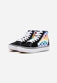 Vans - COMFYCUSH SK8 - Zapatillas altas - rainbow/true white - 1