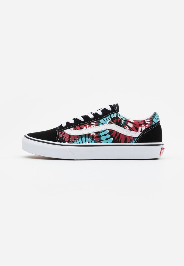 OLD SKOOL EXCLUSIVE - Sneakersy niskie - black/multicolor/true white