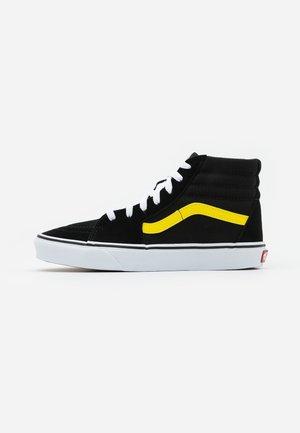SK8 - Korkeavartiset tennarit - black/blazing yellow/true white
