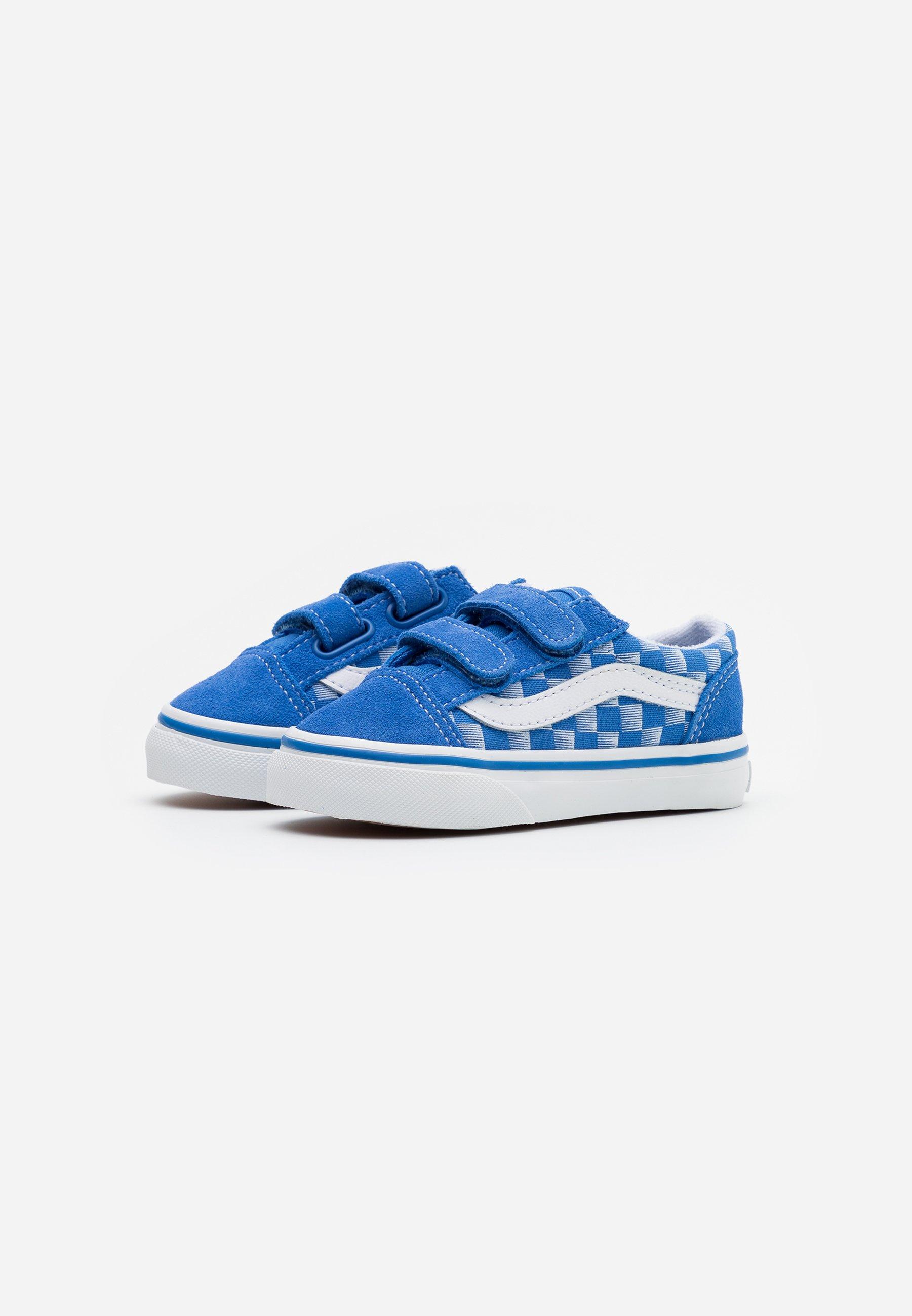Vans OLD SKOOL Sneakers laag bluetrue white Zalando.nl