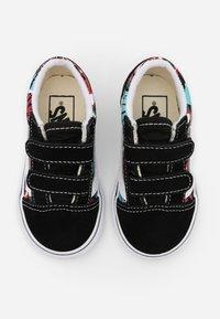 Vans - OLD SKOOL - Sneakers laag - black/multicolor/true white - 3