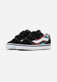Vans - OLD SKOOL - Sneakers laag - black/multicolor/true white - 1