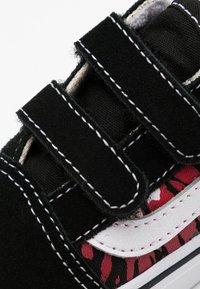 Vans - OLD SKOOL - Sneakers laag - black/multicolor/true white - 5