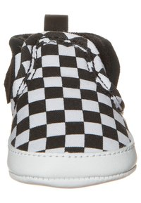 Vans - CRIB CHECKERBOARD  - Chaussons pour bébé - black/true white - 2