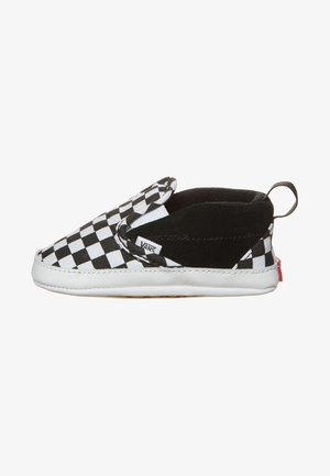 CRIB CHECKERBOARD  - Patucos - black/true white