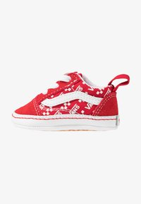Vans - IN OLD SKOOL CRIB - Regalo per nascita - racing red/true white - 1