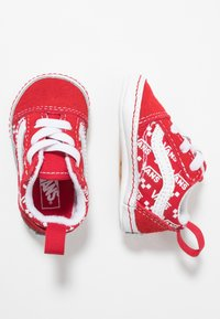 Vans - IN OLD SKOOL CRIB - Regalo per nascita - racing red/true white - 0