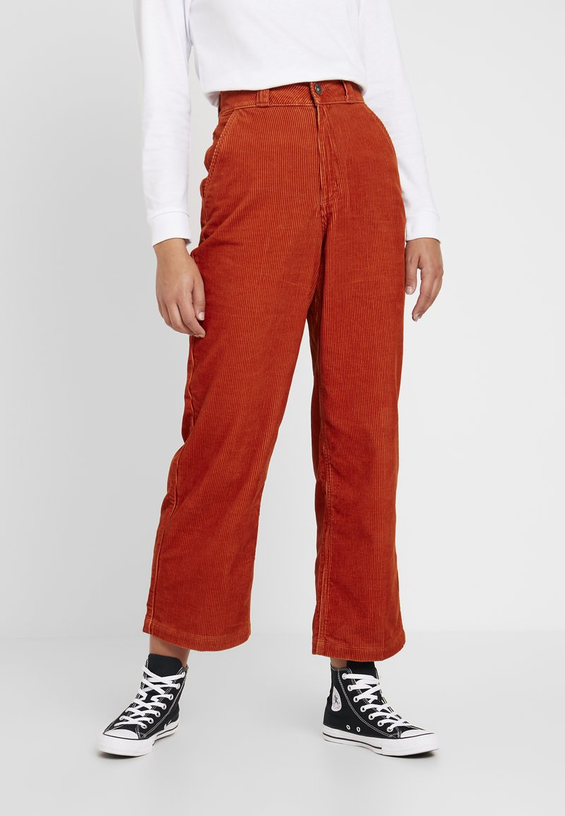 Vans - PANT - Trousers - potters clay