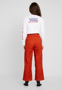 Vans - PANT - Tygbyxor - potters clay - 2