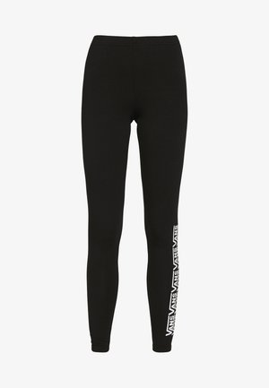 CHALKBOARD FAIR WELL - Leggingsit - black