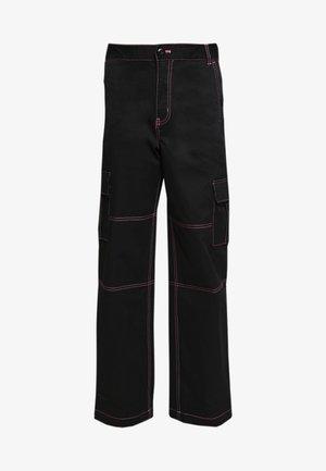 THREAD IT PANT - Kalhoty - black
