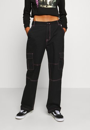 THREAD IT PANT - Trousers - black