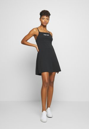 MEADOWLARK SKATER DRESS - Vestito di maglina - black