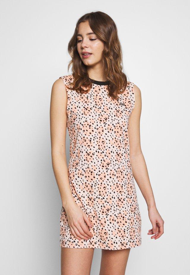 LEILA MUSCLE TEE DRESS - Jerseyjurk - multi-coloured