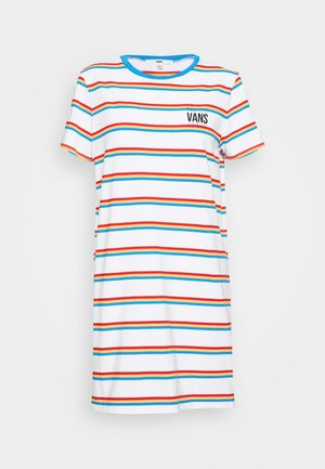 LONG WAY TEE DRESS - Sukienka z dżerseju - white
