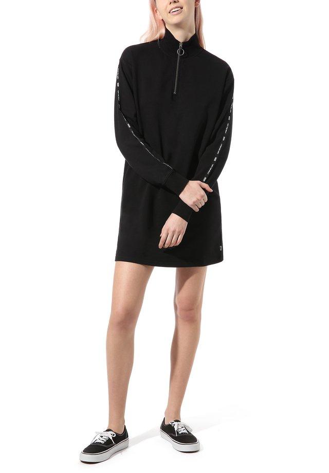 WM CHROMOED MOCK DRESS - Sukienka letnia - black