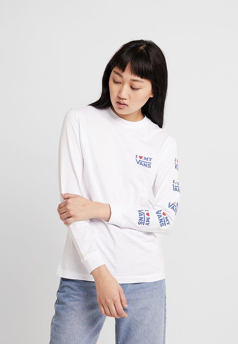 Vans - LOVE - Maglietta a manica lunga - white