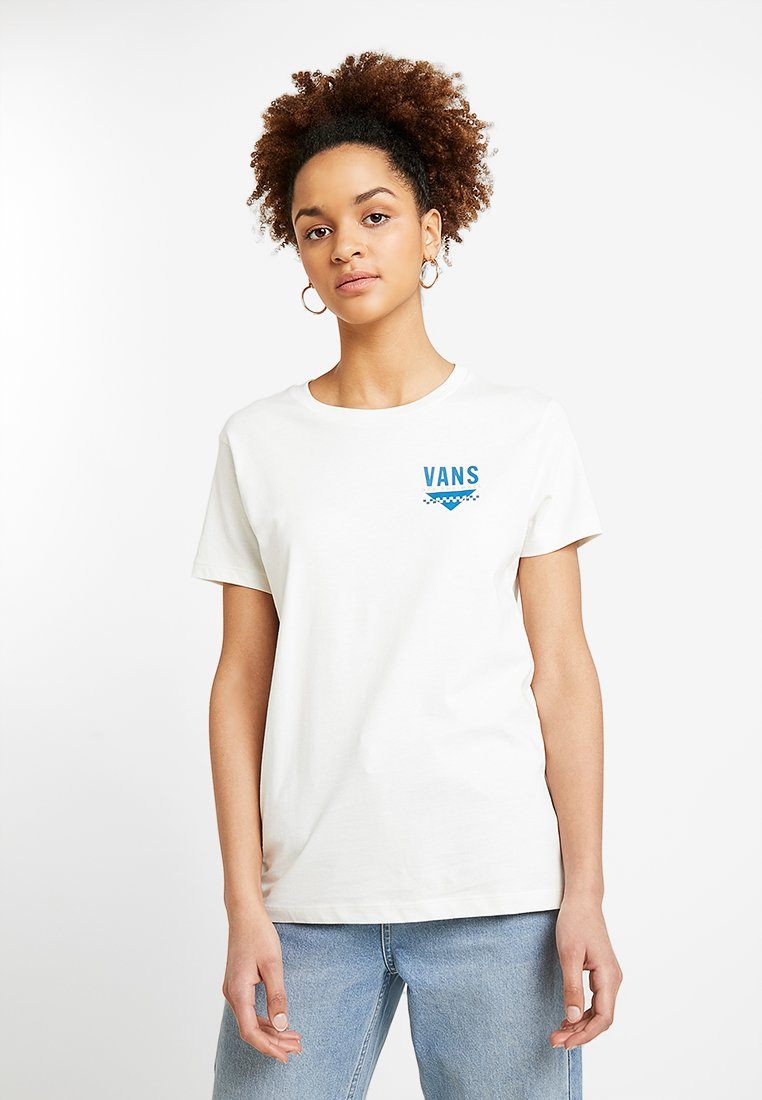 Vans - SOUND CHECK - T-Shirt print - marshmallow