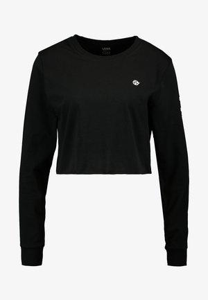 CASTMORE CROP - T-shirt à manches longues - black