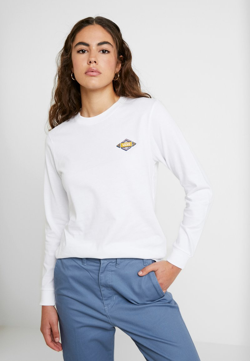 Vans - SKEWED - Långärmad tröja - white