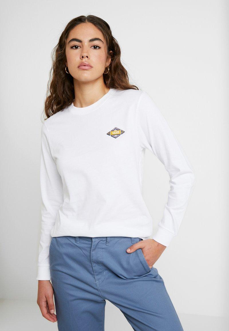 Vans - SKEWED - Langarmshirt - white