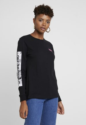LADY BLOCK ROCKIN - Long sleeved top - black