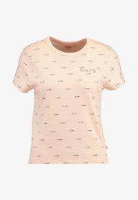 Vans - BCA BABY TEE - Print T-shirt - nude check - 4