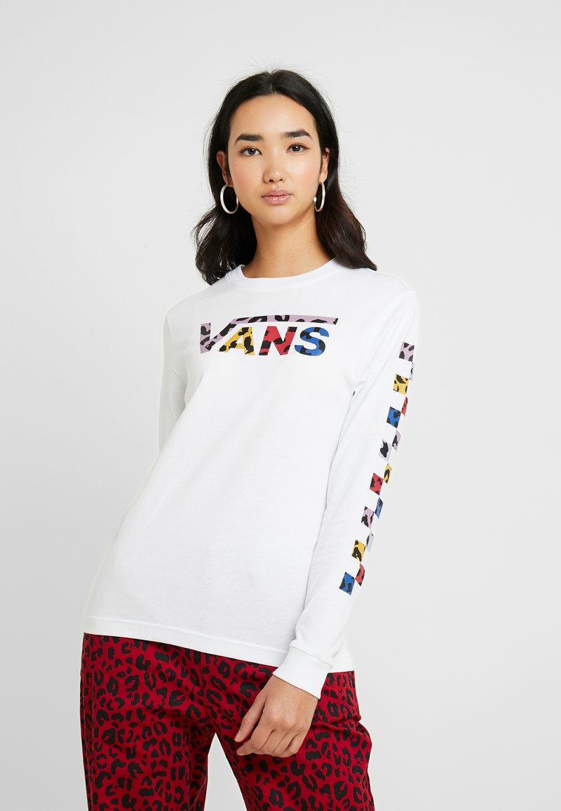 Vans - TANGLE - Long sleeved top - white