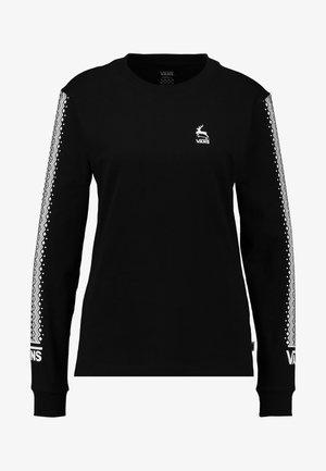 BMX FOR XMAS - Langærmede T-shirts - black