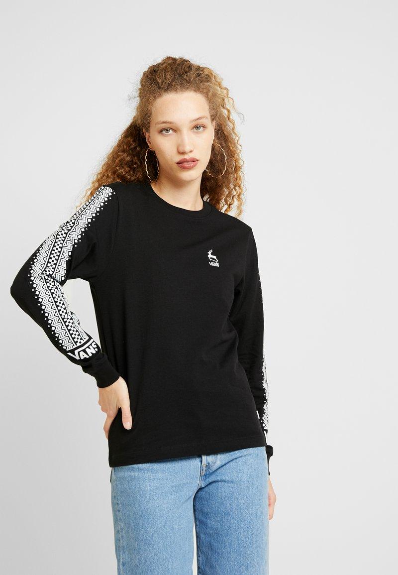 Vans - BMX FOR XMAS - T-shirt à manches longues - black