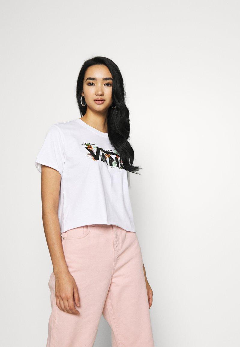 Vans - GREENHOUSE - T-shirts med print - white