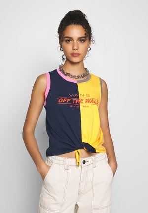 CHECK PIECE TOP - Top - multi-coloured