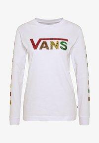 Vans - JUNGLE CREEK - Maglietta a manica lunga - white - 4