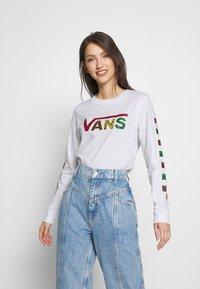 Vans - JUNGLE CREEK - Maglietta a manica lunga - white - 0
