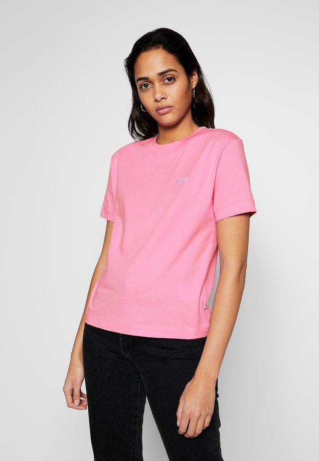JUNIOR V BOXY - Camiseta básica - fuchsia pink