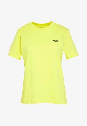 JUNIOR  BOXY - T-shirts med print - lemon tonic