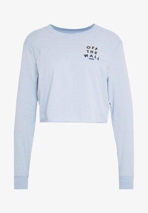 REIGN MARKER - Maglietta a manica lunga - zen blue
