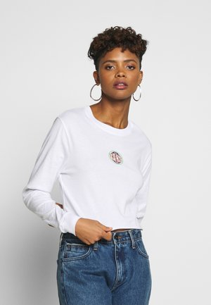 OVALOID - Maglietta a manica lunga - white