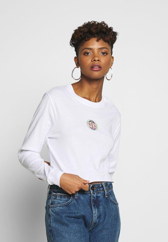 OVALOID - Pitkähihainen paita - white