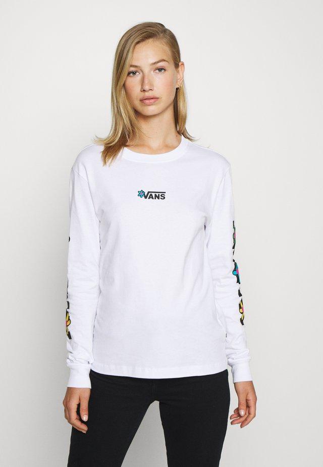 JALOBBY - T-shirt à manches longues - white