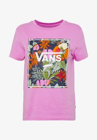 Vans - BOXLET - T-shirt con stampa - fuchsia pink - 3