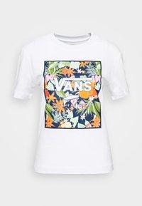 Vans - SONGWRITER JUNIOR BOXY - T-shirt con stampa - white - 4