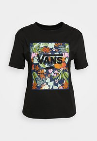 Vans - SONGWRITER JUNIOR BOXY - Print T-shirt - black - 4