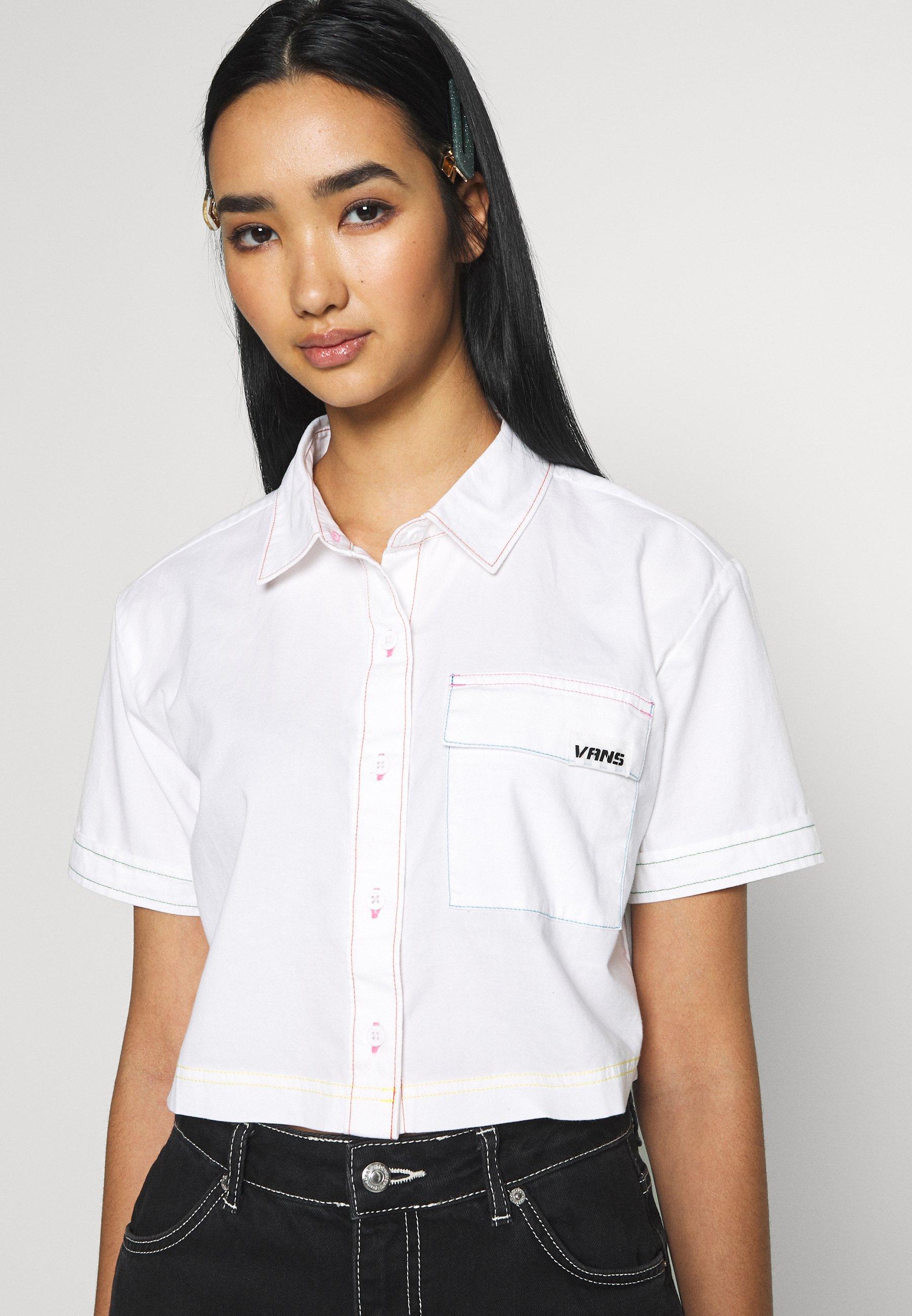 Vans THREAD IT - Skjorte - white