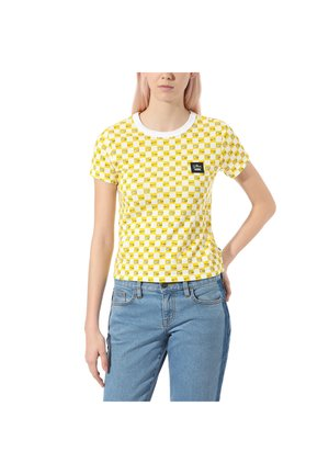 THE SIMPSONS CHECK EYES TEE - Print T-shirt - (the simpsons) check eyes