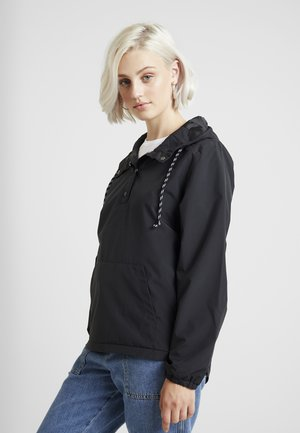 ON POINT ANORAK - Giacca leggera - black