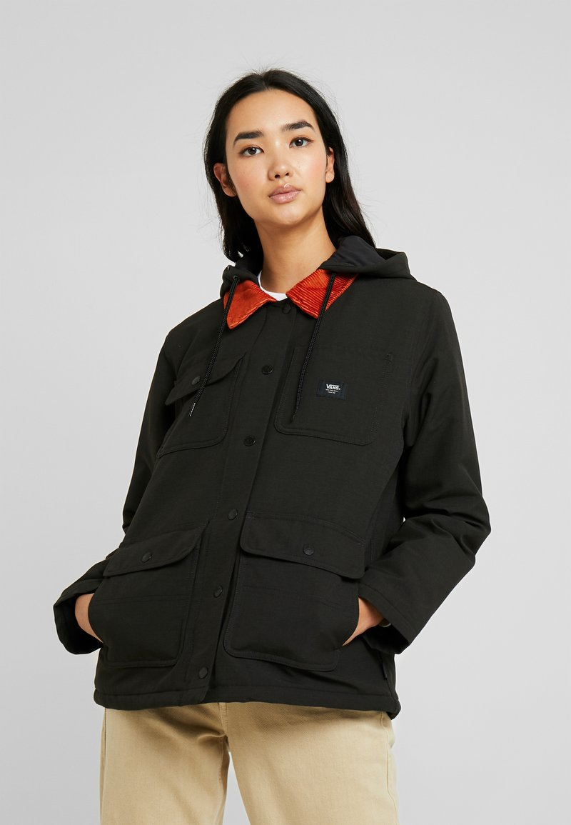 Vans - DRILL CHORE COAT - Parka - black