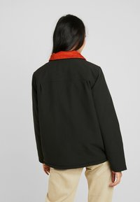 Vans - DRILL CHORE COAT - Parka - black - 3
